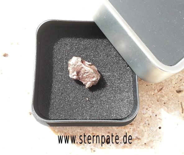 Meteorit kaufen Sternschnuppe geschenkidee in box