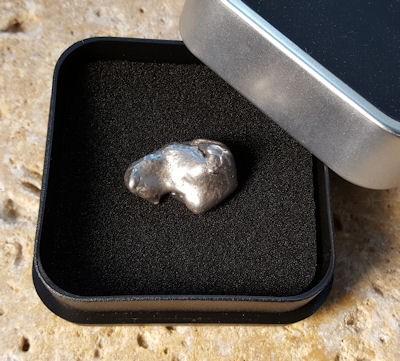 Meteorit Einzelstück Sammlerobjekt
