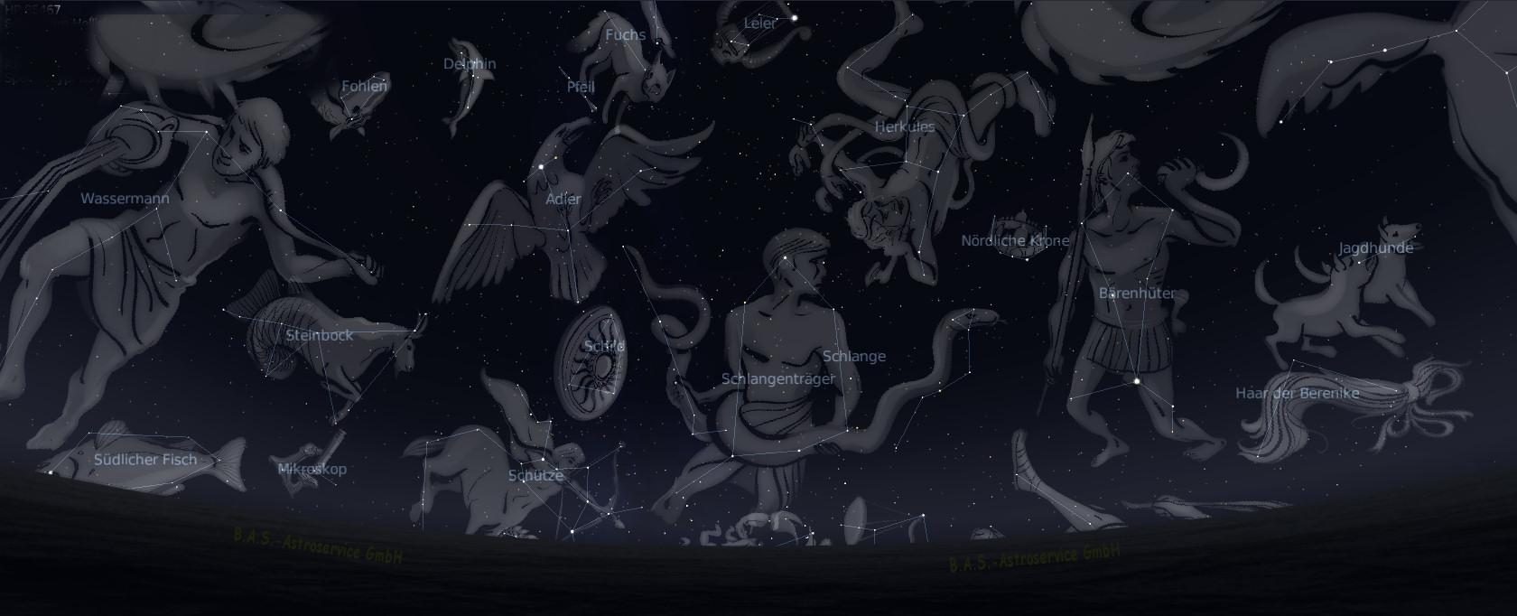 Sterne taufen und per Software beobachten