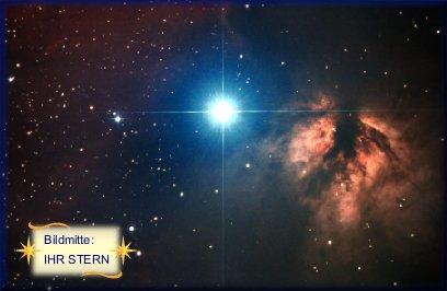 Mehr INfos zum Sternfoto bei Sternkauf