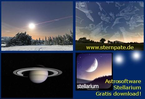 Sternverfolgung bei sterntaufe sternregister