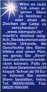 Frau Aktuell Bericht Sternkauf