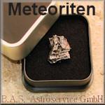 Sternschnuppen und Meteoriten in Geschenkverpackung