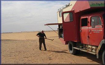 Meteoritensuch in Libyen