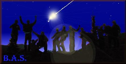 Komet am Himmel beobachten