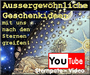 Sterntaufe bei Youtube. Sternpate Video Vlog