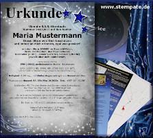 Sterntaufe / Sternpatenschaft Urkunde /'Stars/'