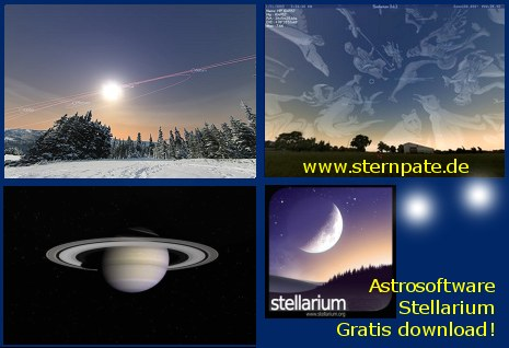 Sternverfolgung, planetarium, sterne beobachten