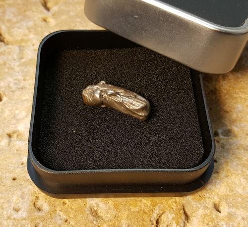 Meteorit AQUILA 12 Gramm Einzelstück