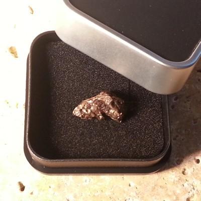 Meteorit Regulus 9.2 Gramm Einzelstück