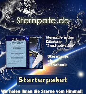 Sterntaufe Komplettpaket Starter