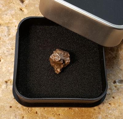 Meteorit Lepus original Unikat wie abgebildet