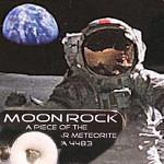 moonrock, Mondgestein im Meteoritenschop