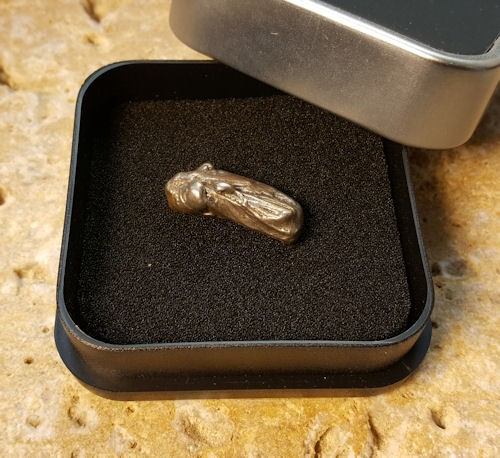 Meteorit Ursa 12 Gramm Einzelstück