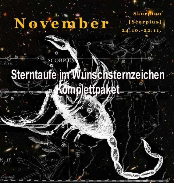 Sterntaufe-im-Wunschsternzeichen-Skorpion