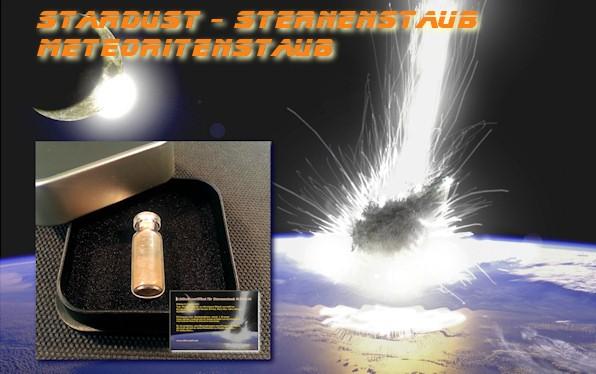 Sternenstaub, Stardust, Meteoritenstaub im Meteoritenshop kaufen